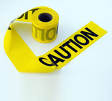Warning Tape 6 (Caution Tap) Yellow